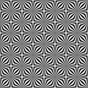 Seamless monochromatic stripe design pattern Stock Illustration