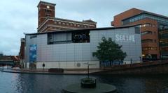 National Sea Life Centre Birmingham - stock footage