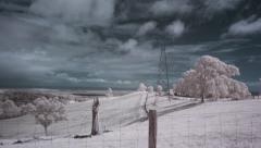 Infrared Views - stock footage