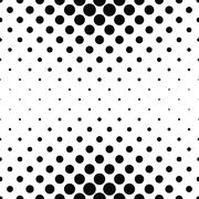 Stock Illustration of Repeating monochrome dotted pattern