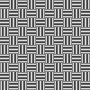 Black and white seamless floor pattern - stock illustration