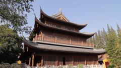 Longhua Temple - Shanghai, China Stock Footage