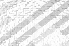 Abstract 3D background extrude style - stock photo
