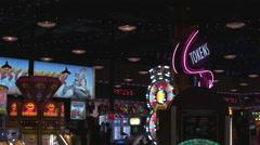 Arcade in Niagara Falls. Stock Footage