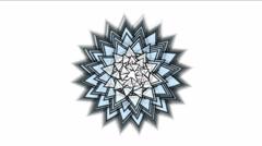 4k Flower design fireworks texture,weave petal bloom matrix particle background Stock Footage