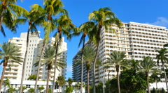 Streetview Bal Harbour. Stock Footage