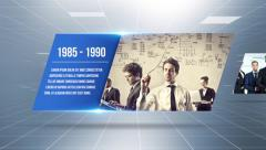 Stock After Effects of Inspiring Corporate Timeline