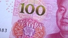 China RMB lastest version,The fifth set of RMB - stock footage