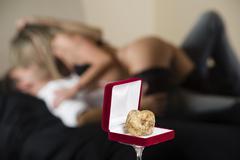 Aphrodisiac white truffle of Piedmont Italy Stock Photos
