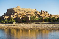 Stock Photo of Kasbah Ait Benhaddou UNESCO World Heritage Site Ait Benhaddou