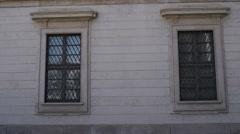 Royal Palace of Milan, Italy Stock Footage