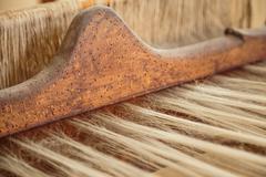 Old weaving Loom Stock Photos