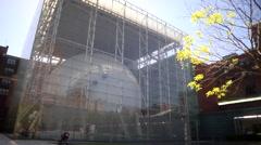 Hayden Planetarium - stock footage