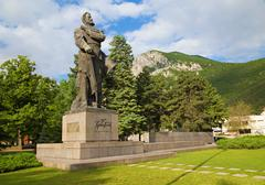 Stock Photo of The monument of Bulgarian national hero Hristo Botev in Vratza