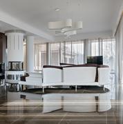 Stock Photo of Modern luxury interior in daylight