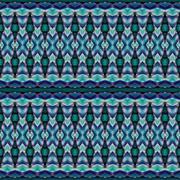 Seamless pattern blue green Stock Illustration