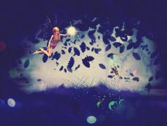 Night Fairy - stock illustration