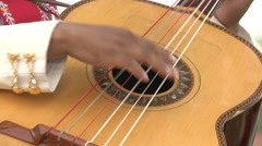 Mariachi performer Stock Footage