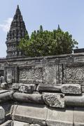 Prambanan temple near Yogyakarta on Java island, Indonesia Stock Photos