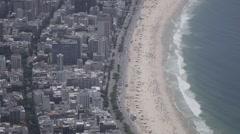 Rio de Janeiro, Brazil beach Stock Footage