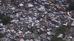 Rio de Janeiro, Brazil Favela - stock footage