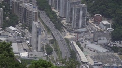 Rio de Janeiro, Brazil busy traffic - stock footage