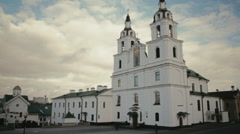 Holy Spirit Church in Minsk - stock footage
