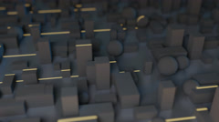 Greeble light streaks Stock Footage