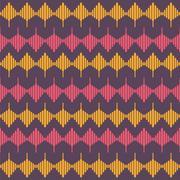 Creative shape design pattern background vector Stock Illustration