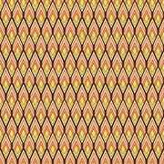 Stock Illustration of creative retro rhombus pattern design background vector