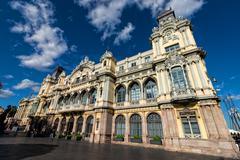 Port Authority of Barcelona. Spain. - stock photo
