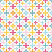 Bright seamless pattern. Endless texture - stock illustration