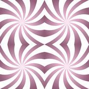 Vintage twisted pattern background - stock illustration