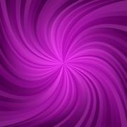 Dark magenta and purple spiral pattern background - stock illustration