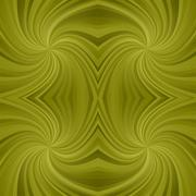 Olive symmetric spiral ray pattern background - stock illustration