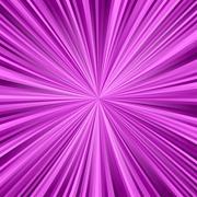 Magenta ray burst background - stock illustration