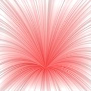 Light red abstract burst design background - stock illustration