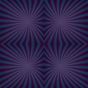 Dark seamless hypnotic swirl pattern background - stock illustration