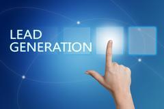 Lead Generation Stock Illustration