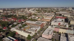 Aerial Shot of Downtown Charleston, SC Arkistovideo