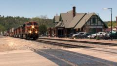 Flagstaff Train Stock Footage