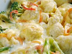 Transylvanian Cauliflower Casserole - stock photo