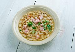 Senate bean soup Stock Photos