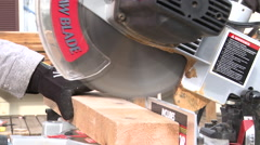 Table Saw 2 Stock Footage