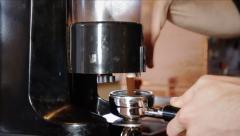 Espresso Grind - stock footage