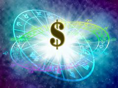 horoscope - stock illustration