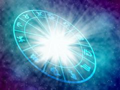 horoscope - stock illustration