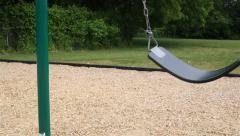 Single Swing Sways Fast - stock footage