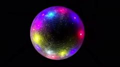 Disco Ball In Night Club Stock Footage