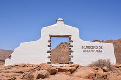 Stock Photo of Abandoned Desert House Exterior